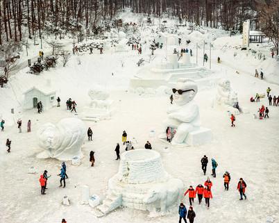 Snow Festival, Taebaek, January 2014