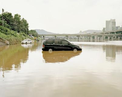 Parking Lot, Seoul, July 2013
