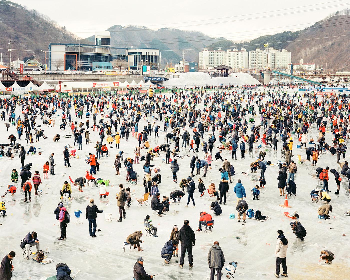 Ice Fishing, Hwacheon, January 2014