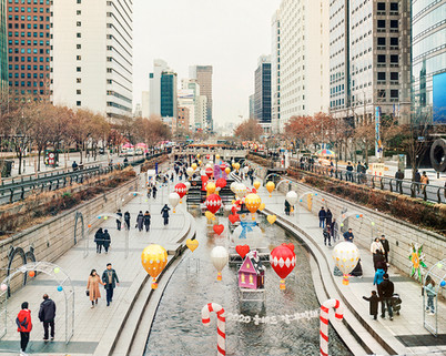 Christmas Festival, Seoul, December 2019
