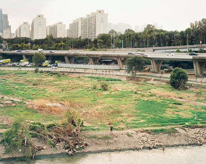 Flooded Area, Seoul, August 2020
