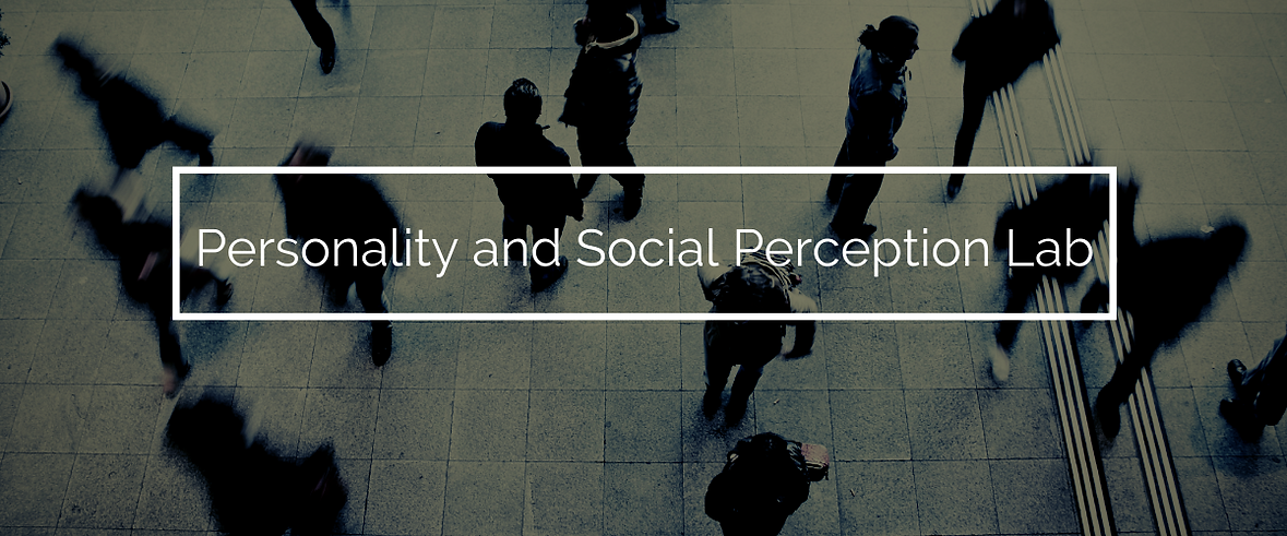 Personality and Social PerCeption Lab (1