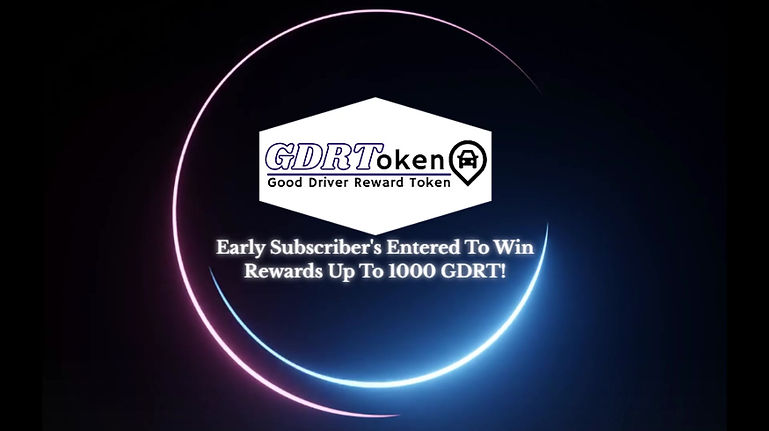 First GDRToken Rewards Video