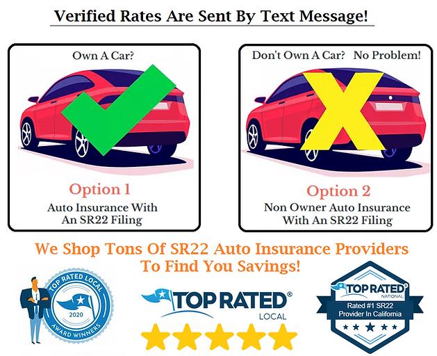 SR22 Insurance Online Savings
