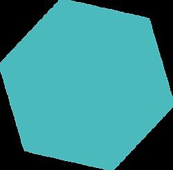 Polygone_-_gefüllt_-_transparent-türkis.