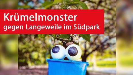 Krümelmonster: Gegen Langeweile im Südpark