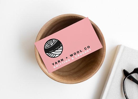 Yarn & Wool Co Mini Branding Kit