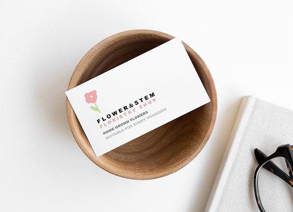 Flower & Stem Mini Branding Kit