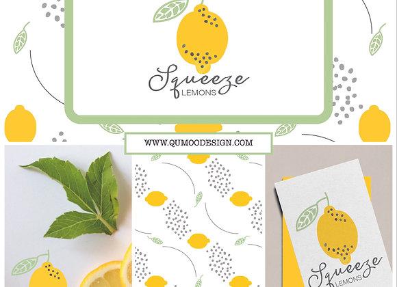 Lemon Mini Branding Kit