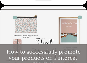 How to successfully promote your products on Pinterest for free with links and an example