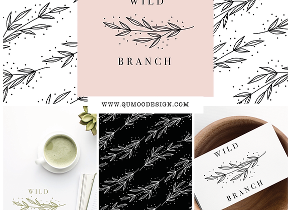 Wild Branch Mini Branding Kit
