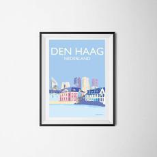 Den Haag Cityscape, The Netherlands