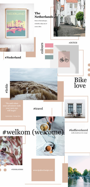 Netherlands Mood Board
