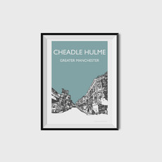 Cheadle Hulme, Greater Manchester (teal)
