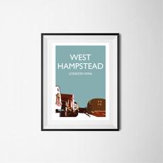 West Hampstead (teal), London