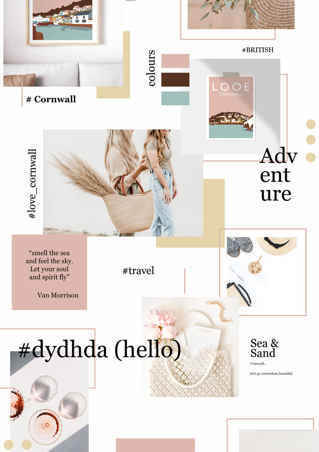 Mood Board Cornwall