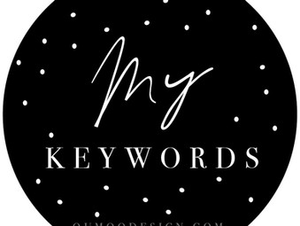 What are keywords?  How can I find them?  It needs to be free!