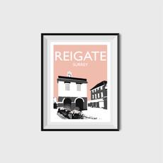 Reigate, Surrey (peach)