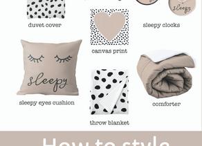 How to style a nursery using Boho + Dalmatian print