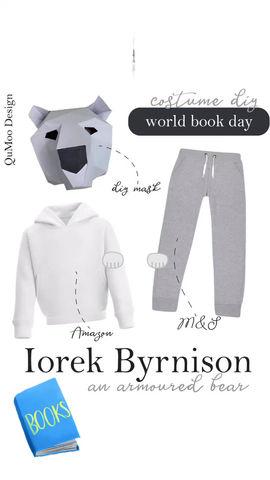 Iorek Byrnison World Book Day Costume