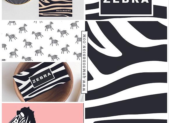 Zebra Mini Branding Kit