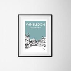 Wimbledon Village (teal), London