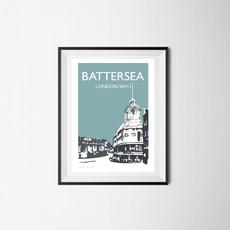 Battersea (teal), London