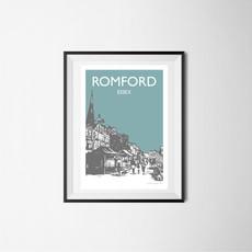 Romford, Essex (teal)