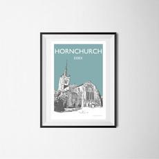 Hornchurch, Essex (teal)