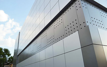 Punched panel