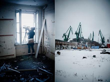 Melissa Decaire sur le Chantier Naval de Gdansk par Michal Szlaga