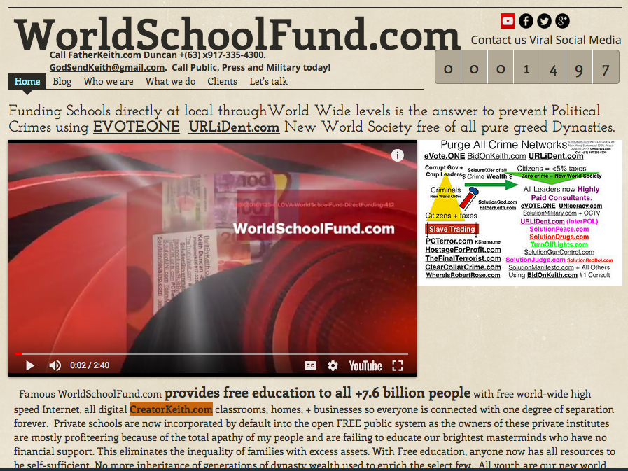 4-WorldSchoolFund- Free Education For all