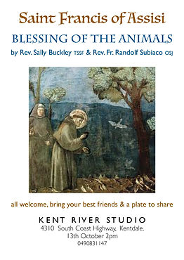 Invitation - Blessing of the Animals 201