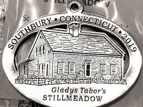 2019 Pewter Ornament, Gladys Taber's Stillmeadow