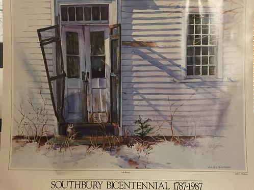 Southbury Bicentennial Print, Left Behind
