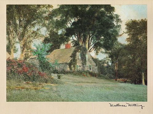 Wallace Nutting Country Cottage Notecard