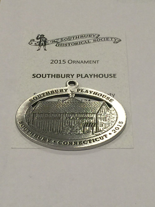 2015 Pewter Ornament, Southbury Playhouse