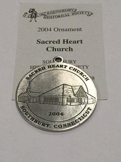 2004 Pewter Ornament, Sacred Heart Church