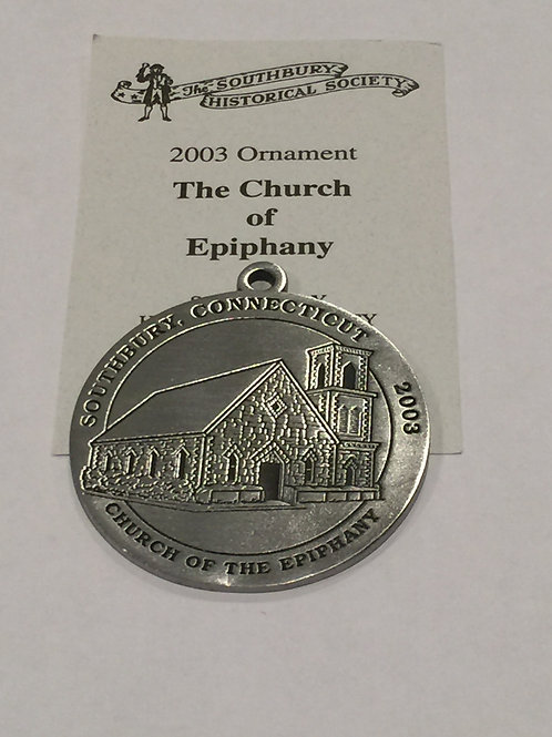 2003 Pewter Ornament, Church of the Epiphany