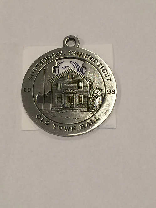 1998 Pewter Ornament, Old Town Hall