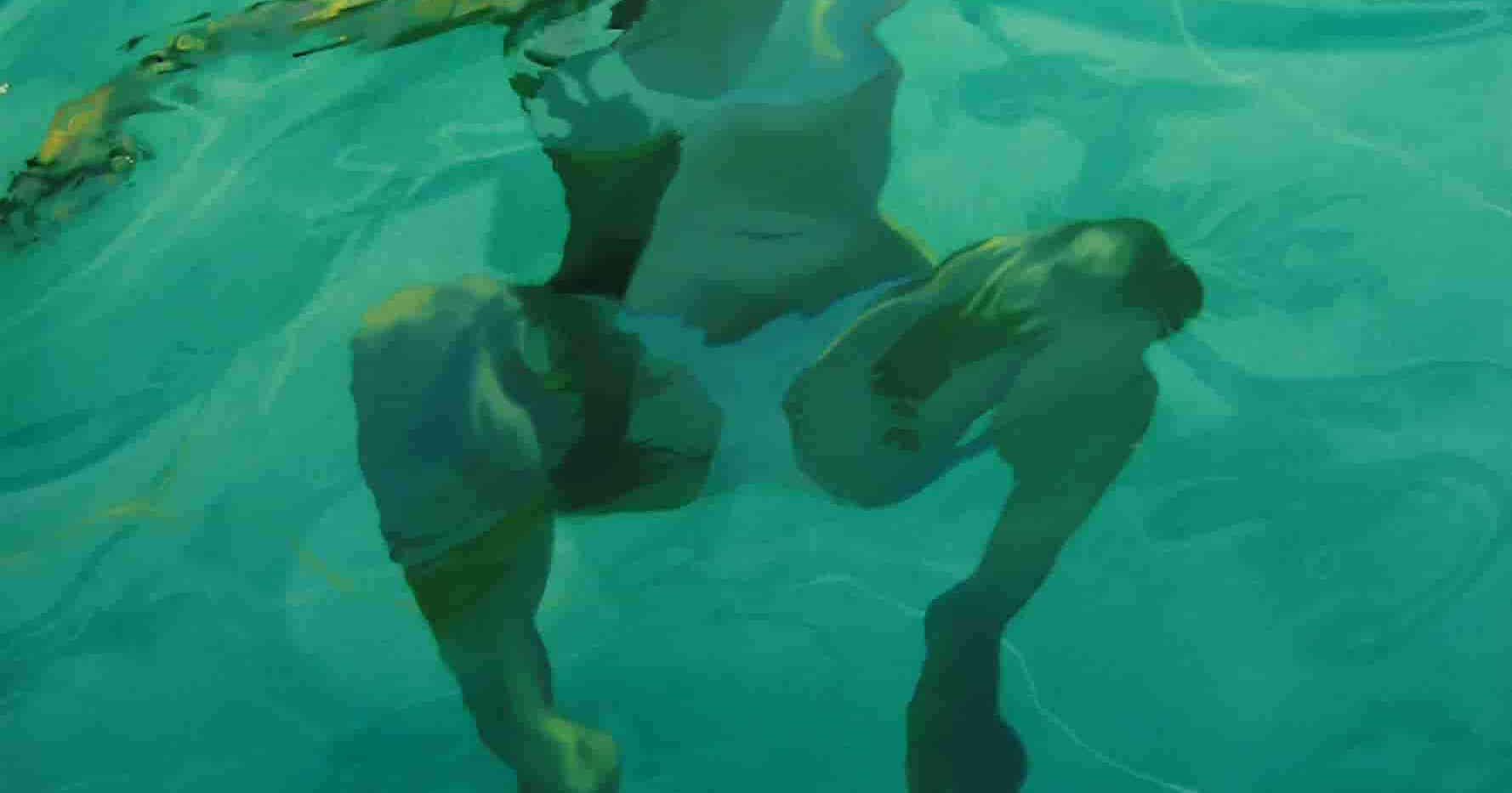 Floating Turquoise