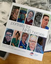 Portraits for NHS Hero's, Hardback, Bloomsbury press