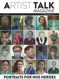 Artist Talk Magazine, Front Cover image