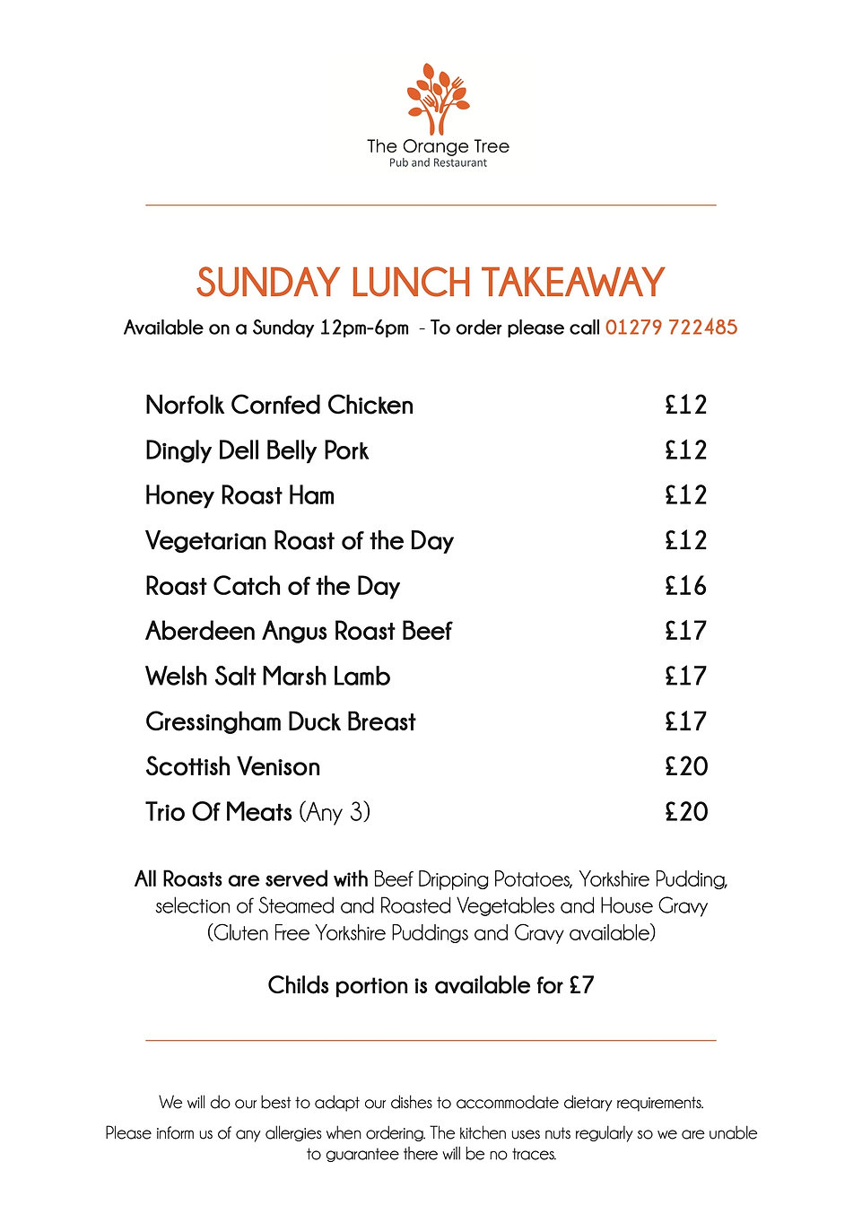 OT SUNDAY LUNCH TAKEAWAY NOVEMBER 2020.j
