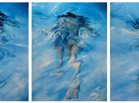 Shattered 1,2&3 Triptych