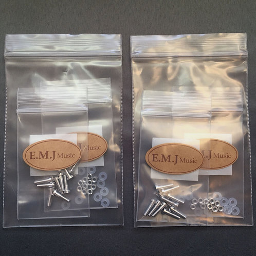 Set of 2 EMJ Aluminum Screw Set for phono cartridge 5AD