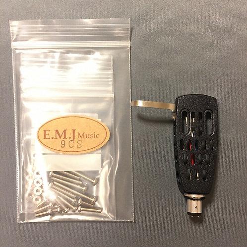 EMJ Universal Headshell & Brass Screw Nut Waher Set
