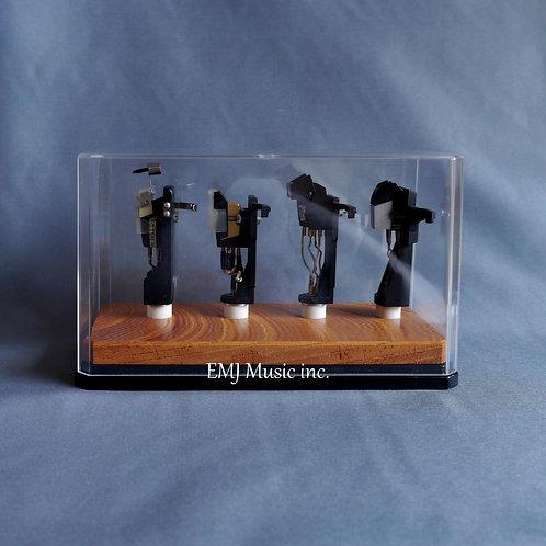 EMJ zelkova headshell cartridge keeper (handmade 4C)