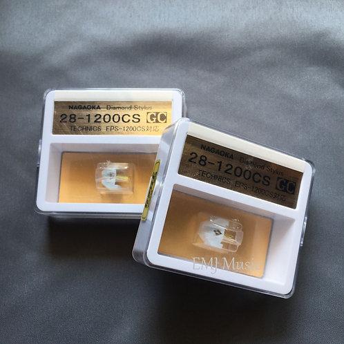 Set of 2 Nagaoka styli 28-1200CS for Technics EPC-U1200