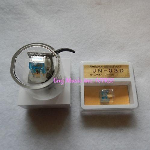 NAGAOKA MM Cartridge & Headshell DJ-03HD +DJ-03HD +PRESENTの複製